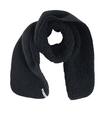 Shawl fleece/fur - black