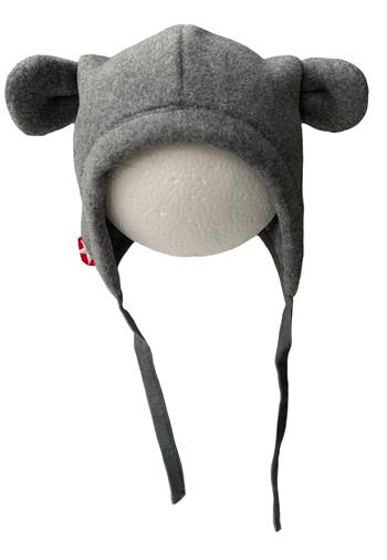 Hat sproet fleece - grey