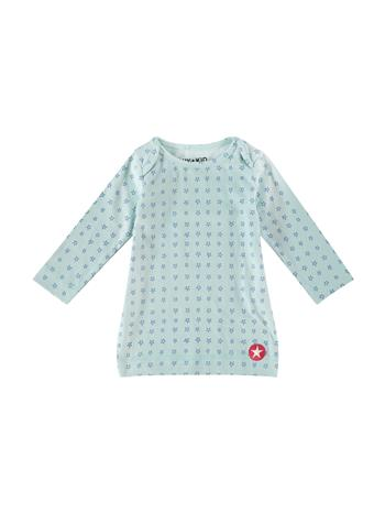 ORGANIC COTTON dress jersey - lblue