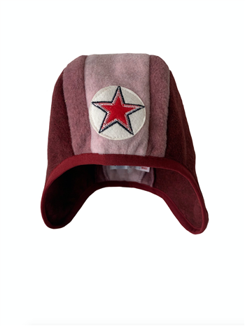 Hat speedy 3 color - red