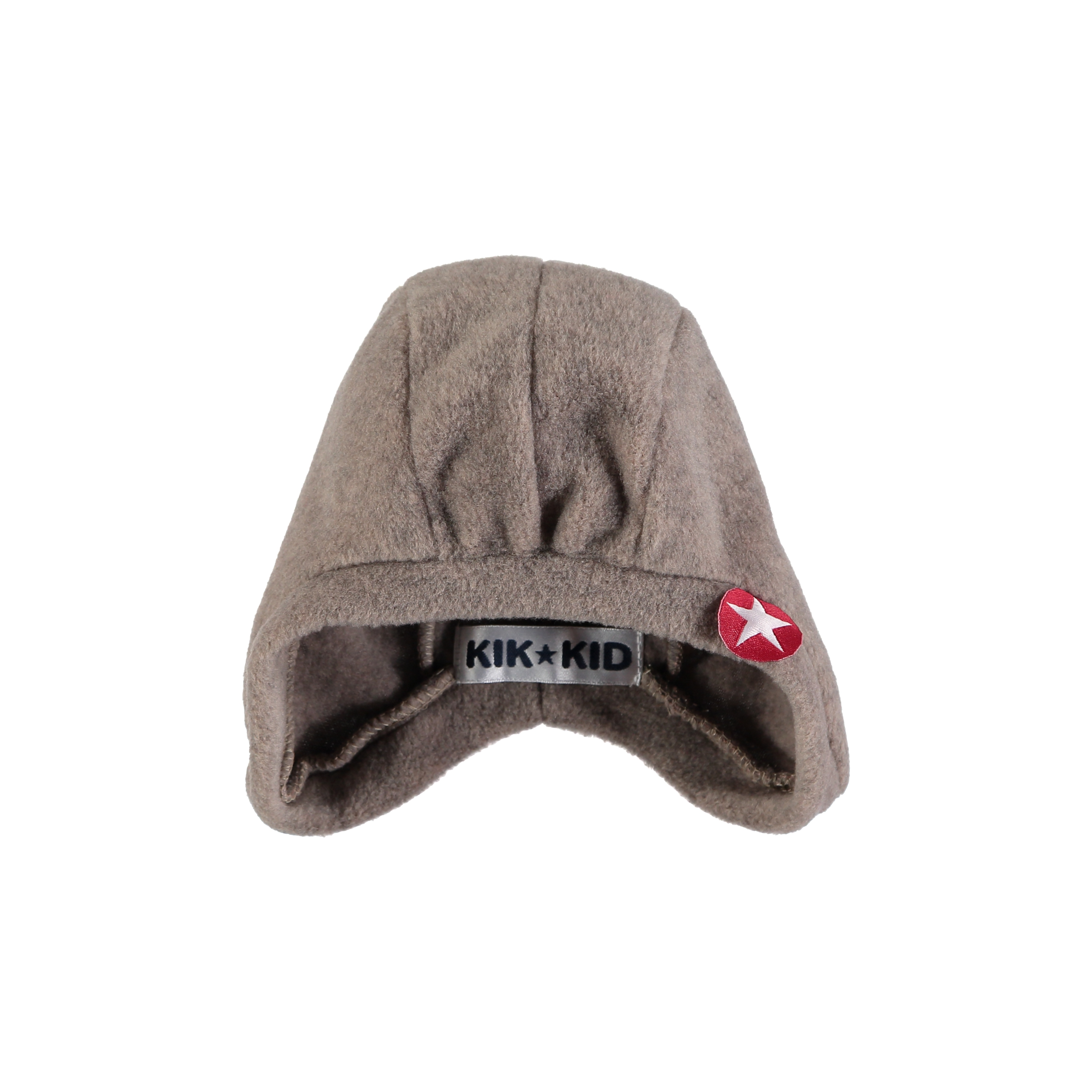 Hat speedy plain fleece - lbrown