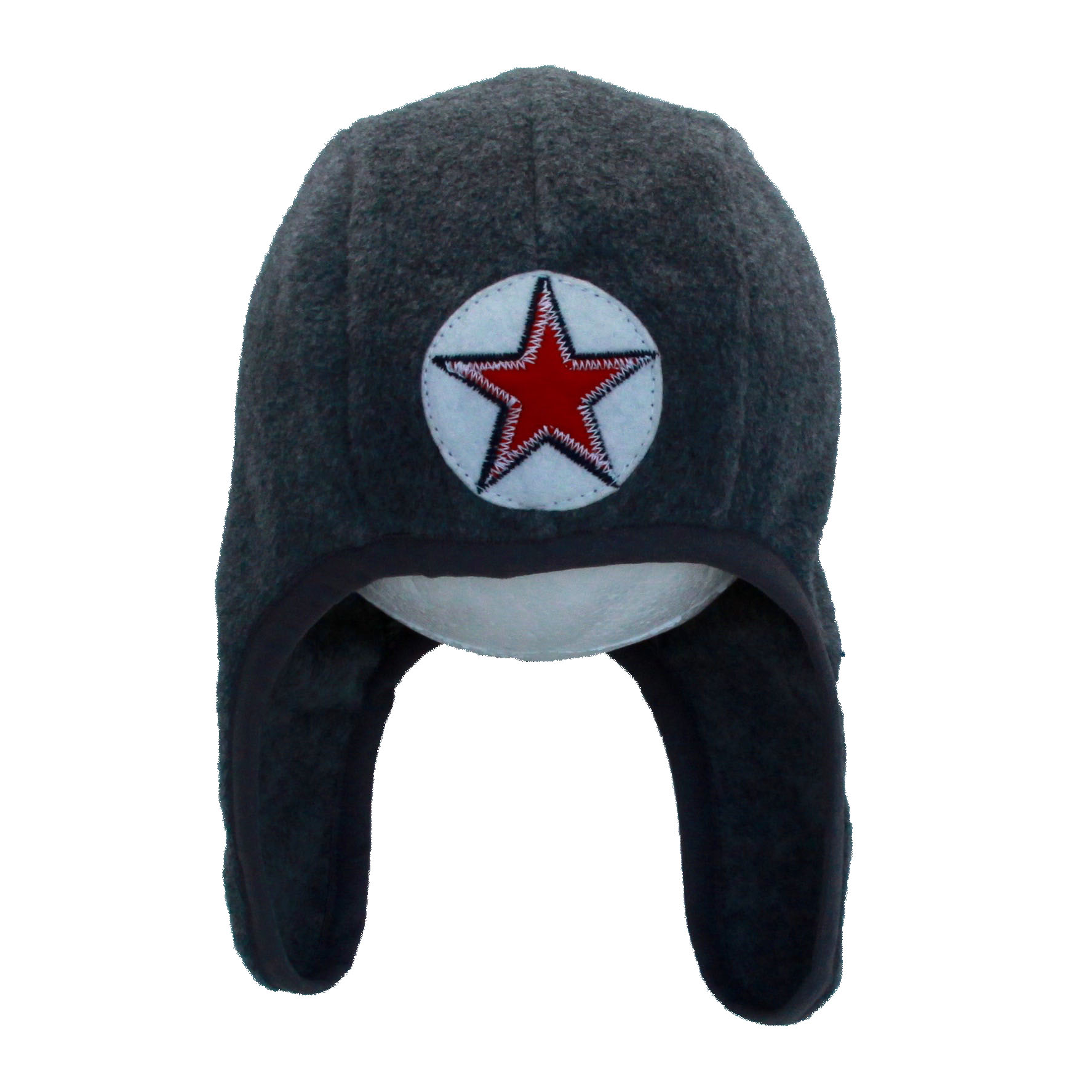 hat speedy goof plain fleece - d.grey