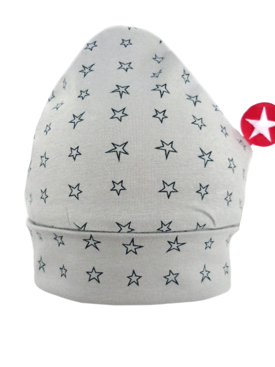 ORGANIC COTTON hat jersey - lgrey