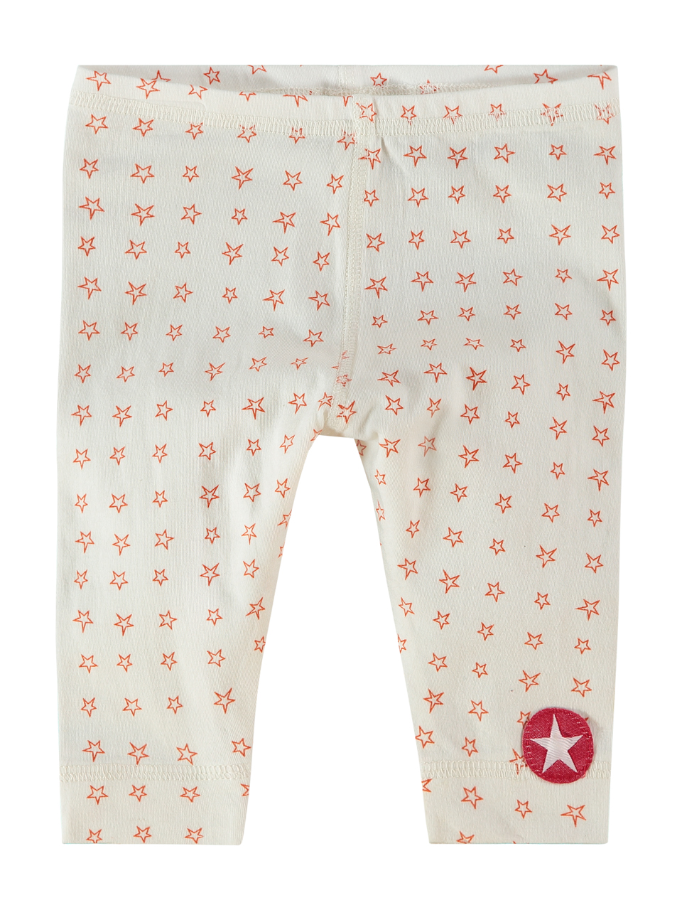 ORGANIC COTTON legging jersey - white