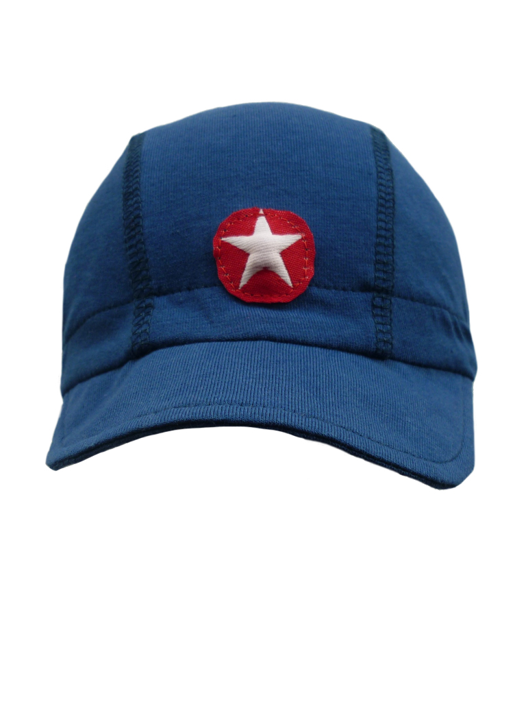 Hat cap basics - dark blue