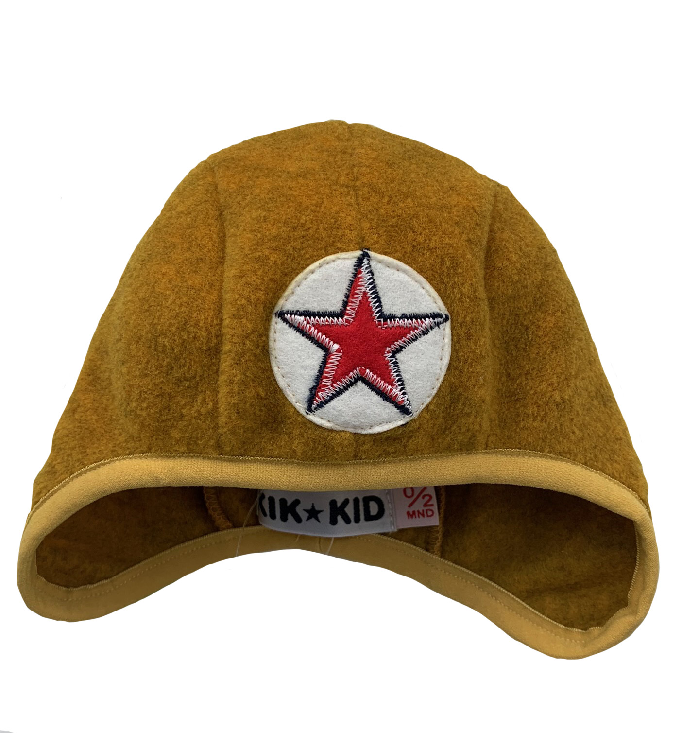 Hat speedy star fleece -  yellow