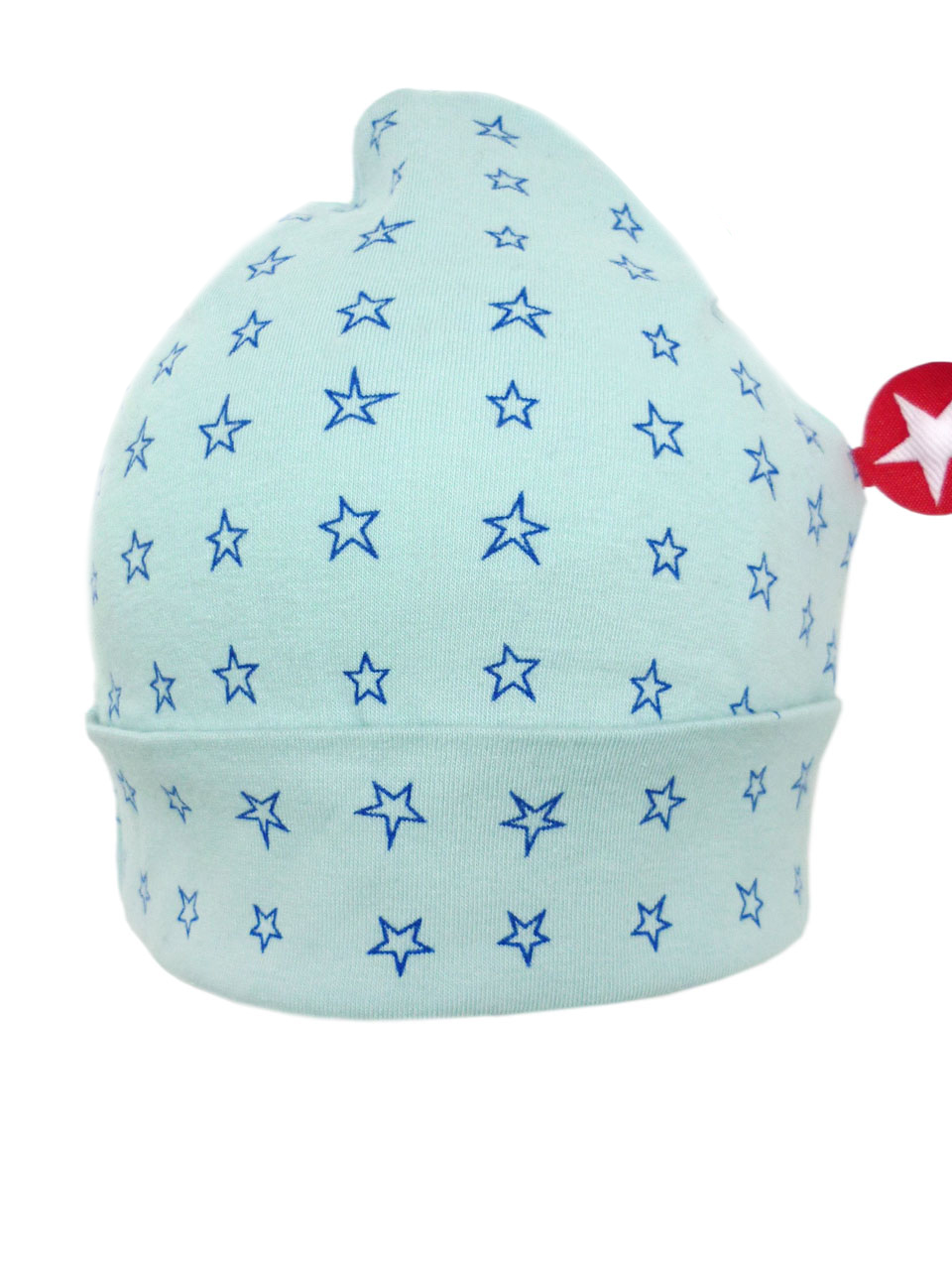 ORGANIC COTTON hat jersey - lblue