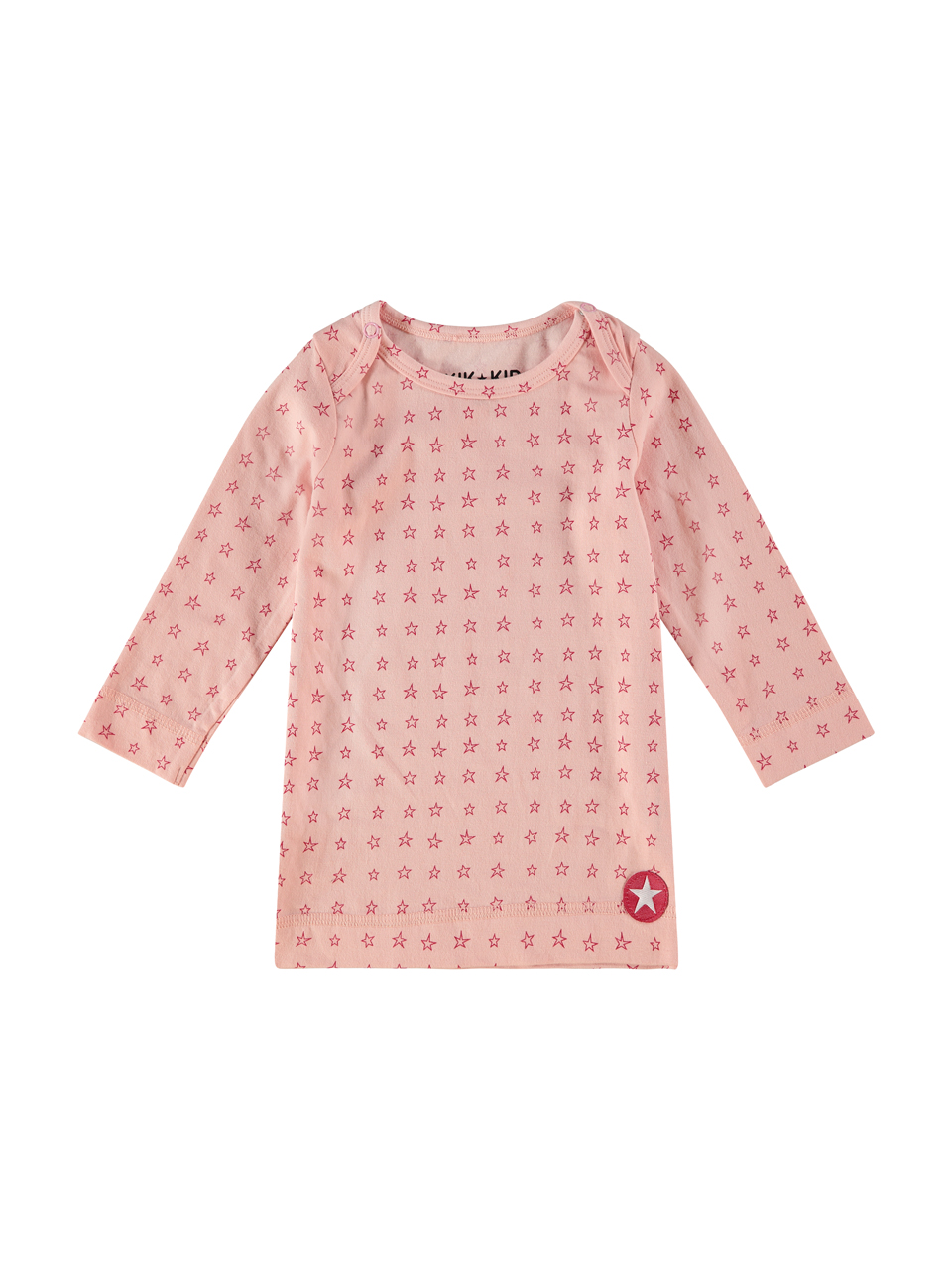 ORGANIC COTTON dress jersey - lpink