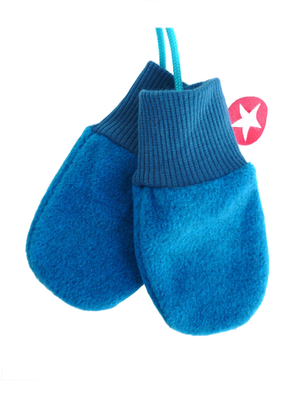Mittens fleece - blue