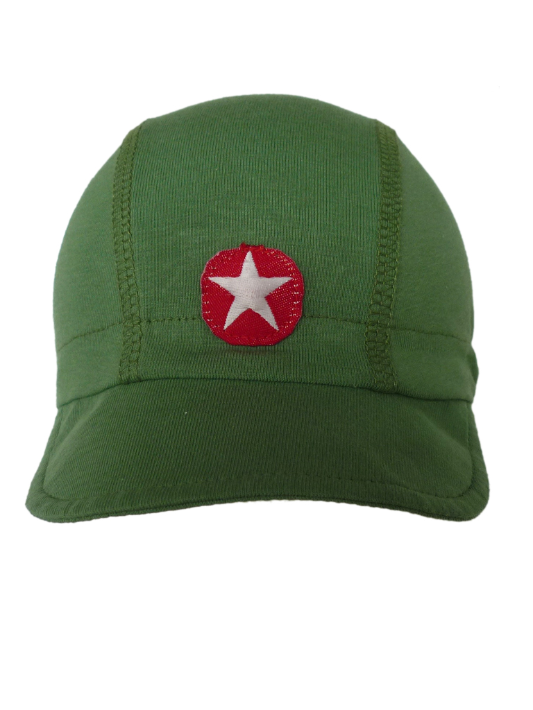 Hat cap basics - mid green